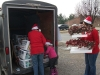 Unloading the baskets at Prairie Grove Apartments in East Prairie
