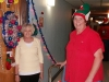 LBFOL Founder & President Marilyn Hull and another grateful resident