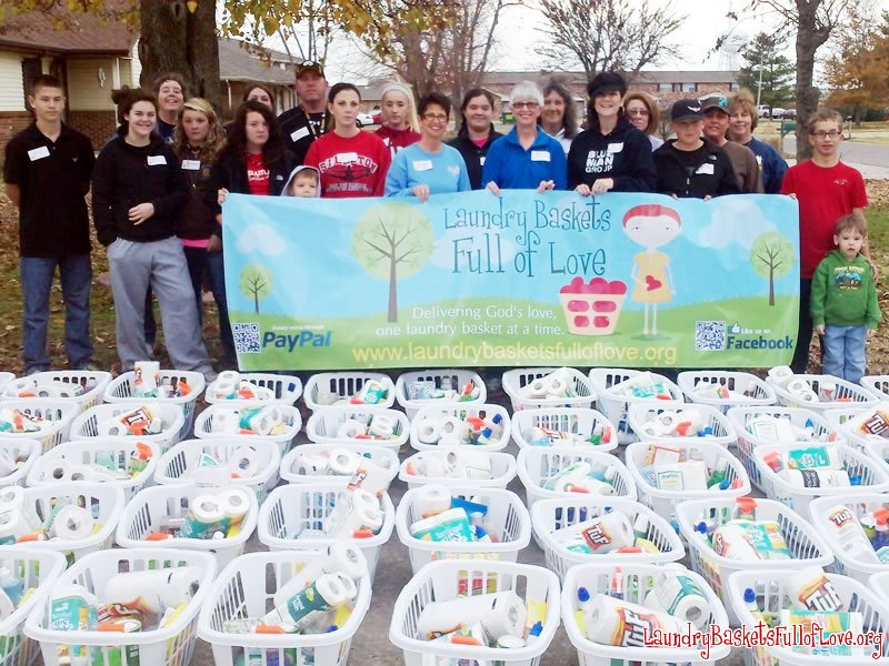 2012 Project Christmas Basket volunteers