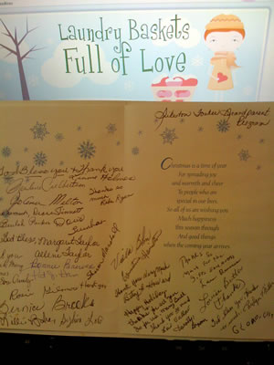 2011 Christmas Thank You from Sikeston Grandparents Association