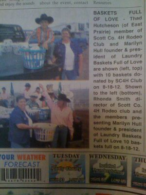 East Prairie Enterprise Courier article 9-4-12