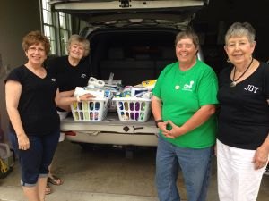 Donated Baskets from JOY womens group of Tanner St. COG 6_2015