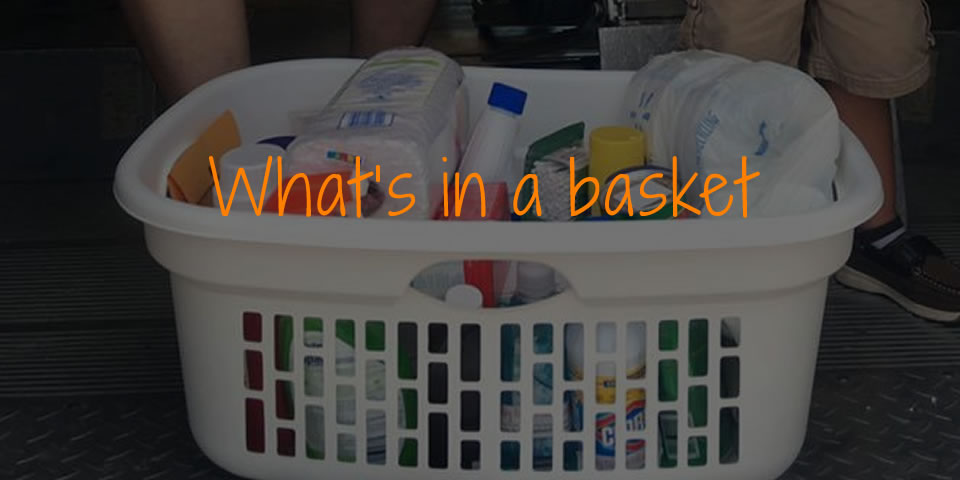 What's in a basket